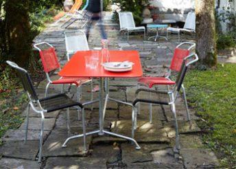Tisch für den Garten